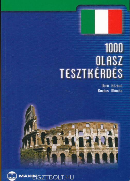 1000 olasz tesztkérdés