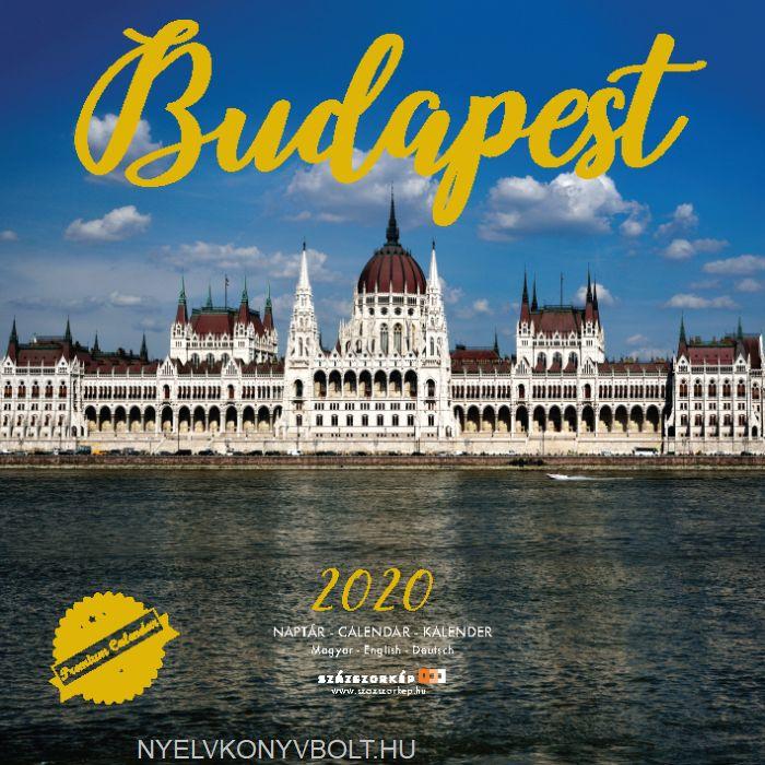 Budapest falinaptár 2020 (30x30)
