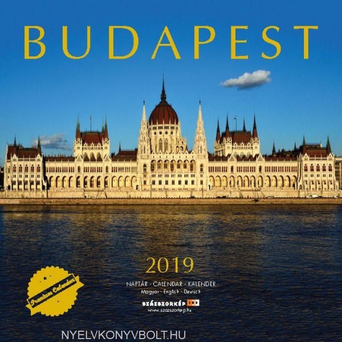 Budapest falinaptár 2019 (30x30)