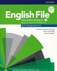 English File 4th Edition Intermediate Student's Book/Workbook Multi-Pack A