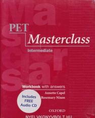 PET Masterclass Intermediate Workbook with Answers and Audio CD