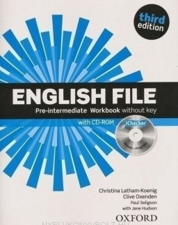 English File - 3rd Edition - Pre-Intermediate Workbook without Key with +Ichecker (Pack)