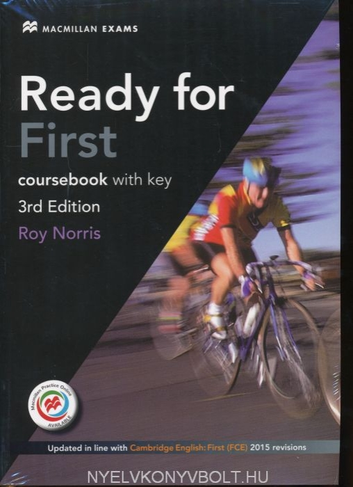 Ready for First (FCE) (3rd Edition) Student's Book with Key & Macmillan Practice Online