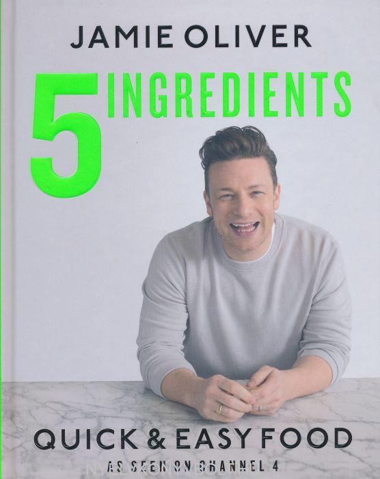 Jamie Oliver 5 Ingredients - Quick & Easy Food