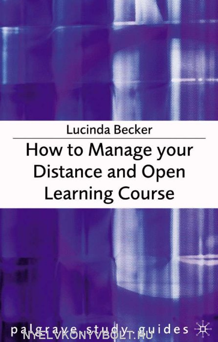 How to Manage your Distance and Open Learning Course