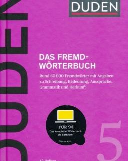 Duden 5 Das Fremdwörterbuch 12. Auflage