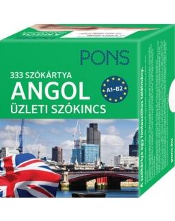 PONS 333 szókártya angol üzleti szókincs A1-A2