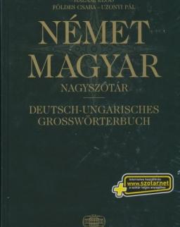 Német-Magyar Nagyszótár (Karton) - Internetes hozzáféréssel és On-line Android alkalmazás kóddal