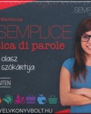 Semplice Pratica di parole - 400 olasz szókártya kezdő szinten (MX-628)