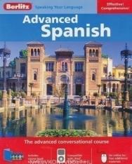 Berlitz Advanced Spanish Book and 3 Audio CDs