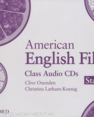 American English File Starter Class Audio Cds
