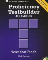 Proficiency Testbuilder 4th edition Book with Audio CDs without answers - Fully revised for the 2013 exam