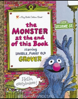 Sesame Street - The Monster at the End of this Book - A Big Little Golden Book