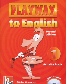 Playway to English - 2nd Edition - 1 Activity Book with CD-ROM