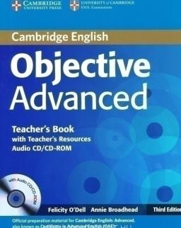 Objective Advanced 3rd Edition Teacher's Book with Teacher's Resources Audio CD/CD-ROM