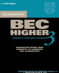 Cambridge BEC Higher 3 Official Examination Past Papers Student's Book with Answers