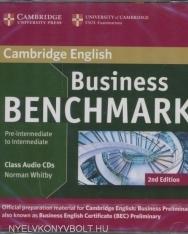 Business Benchmark Pre-Intermediate to Intermediate 2nd Edition - BEC Preliminary Edition Class Audio CDs(2)