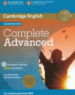 Complete Advanced Second edition Student's Book with answers with CD-ROM & Class Audio CDs