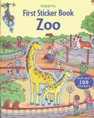 Zoo (Usborne First Sticker Books)