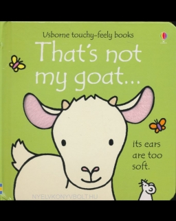 Usborne Touchy-Feely Books - That's Not My Goat