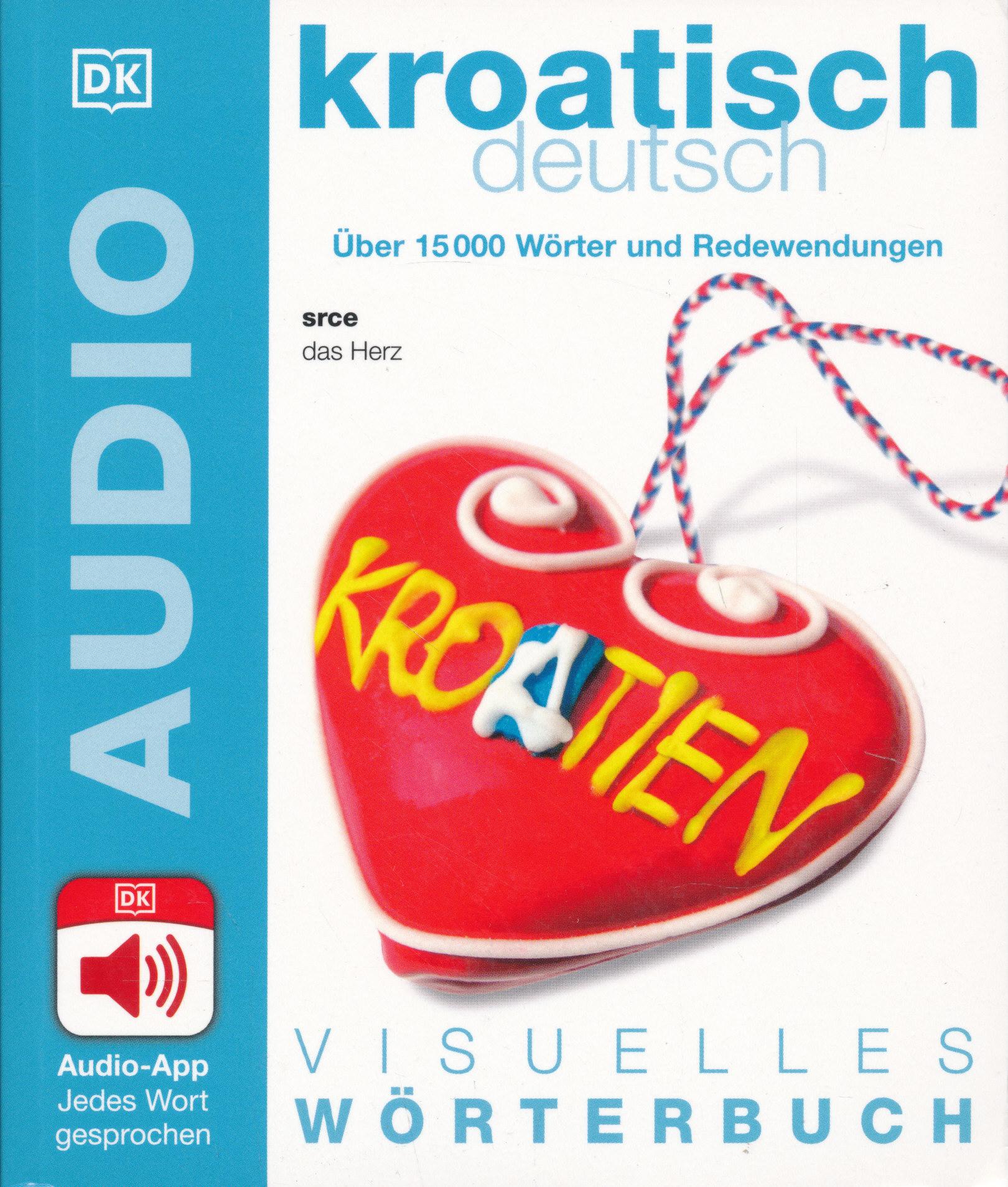 Visuelles Wörterbuch Koratisch - Deutsch - Mit Audio App - Jedes Wort gesprochen