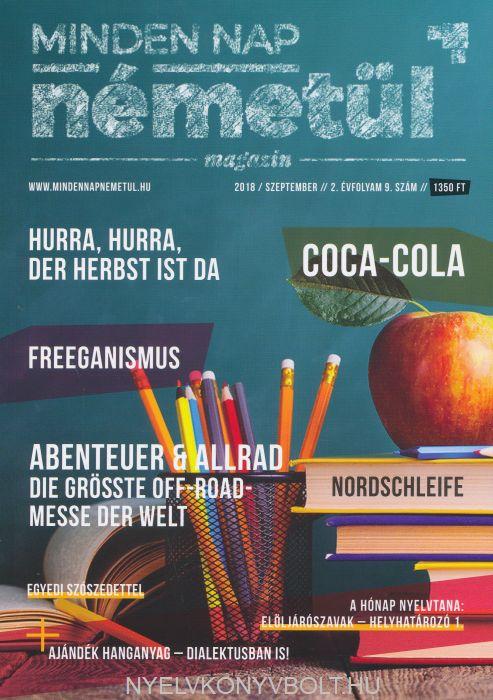 Minden nap németül magazin 2018 szeptember