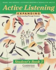 Active Listening: Expanding Understanding through Content Student's Book