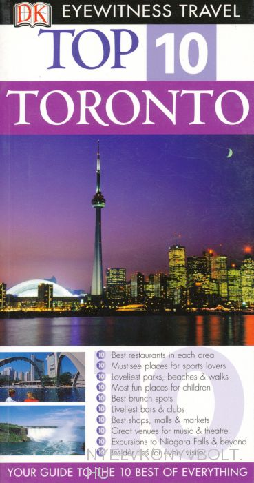 DK Eyewitness Travel Top 10 - Toronto