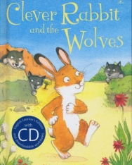 Clever Rabbit and the Wolves (Book with CD) - Usborne First Reading Level Two