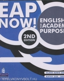 EAP Now! English for academic purposes Class Audio CDs 2nd edition