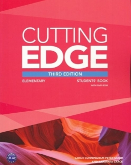 Cutting Edge Third Edition Elementary Student's Book with DVD-Rom