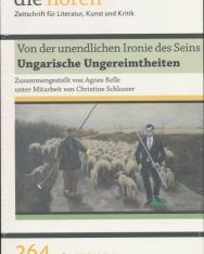 Von der unendlichen Ironie des Seins: Ungarische Ungereimtheiten