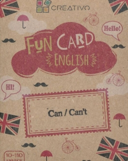 Fun Card English: Can/Can't