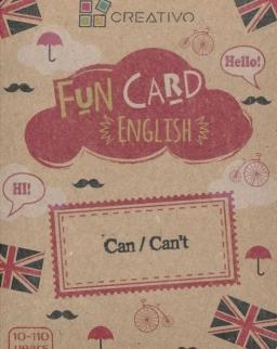 Fun Card English: Can/Can't