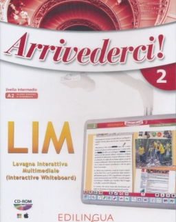 Arrivederci! 2 - Software per la lavagna interattiva multimediale (LIM) CD-Rom