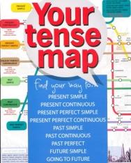 Your Tense Map - Térképes igeidő rendszerezés és társasjáték