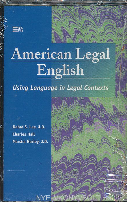American Legal English Cassette