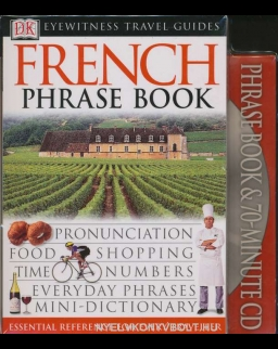 DK Eyewitness Travel Guide - French Phrase Book with Audio CD