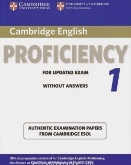 Cambridge English Proficiency 1 for Updated Exam Student's Book without answers