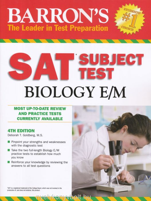 Barron's SAT Subject Test- Biology 4th Edition