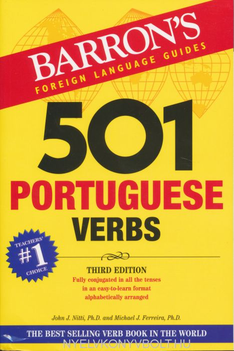 Barron's 501 Portuguese Verbs