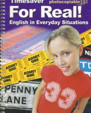 Timesaver - For Real! English in Everyday Situations + Audio CD