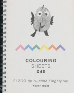 El ZOO de Huellita Fingerprint Colouring Sheets