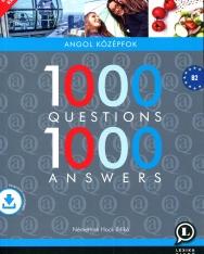 1000 Questions & Answers - 1000 kérdés és válasz angolul letölthető hanganyaggal