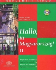 Halló, itt Magyarország! II. + Audio CD