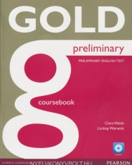 GOLD Preliminary Coursebook with CD-ROM