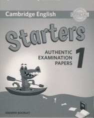 Cambridge English Starters 1 Answer Booklet for Revised exam from 2018