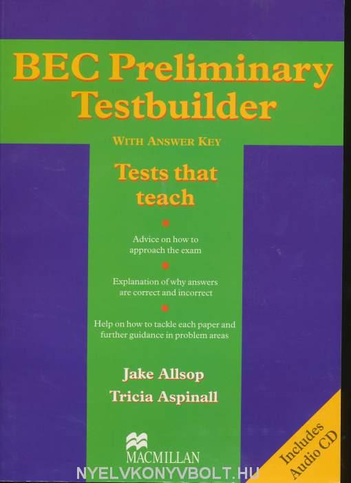 BEC Preliminary Testbuilder + Audio CD