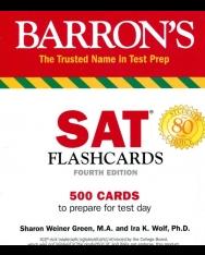 Barron's SAT Flash Cards 4th Edition