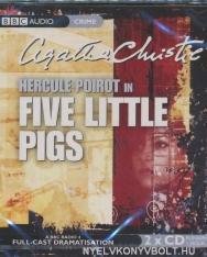 Agatha Christie: Hercule Poirot in Five Little Pigs - Audio Book CD